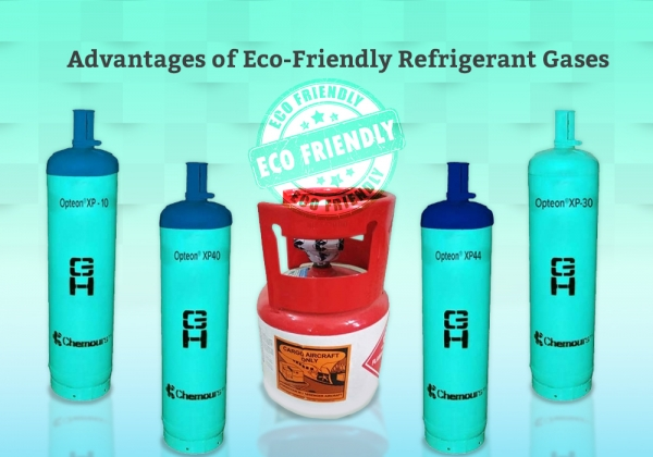 Advantages Of Eco-Friendly Refrigerant Gases